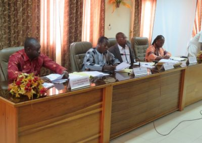 Comité de bassin 2018 à Koudougou