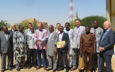 Lancement projet Faso Koom II